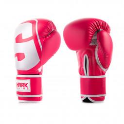 Guante de Boxeo SKF Rosa Blanco