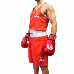 BOXING SET AMATEUR ROJO